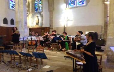 Photo de l'orchestre de musique orientale