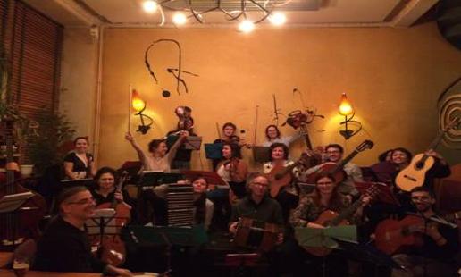 Photo de l'orchestre de Musique Argentine